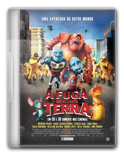 A Fuga do Planeta Terra   BDRip AVI + RMVB Legendado