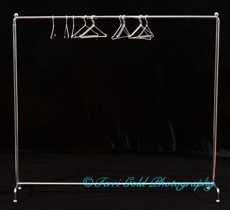 Sybarite Superdoll Chrome Clothing Rack