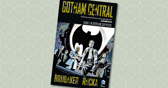 Gotham Central 1 Panini Cover