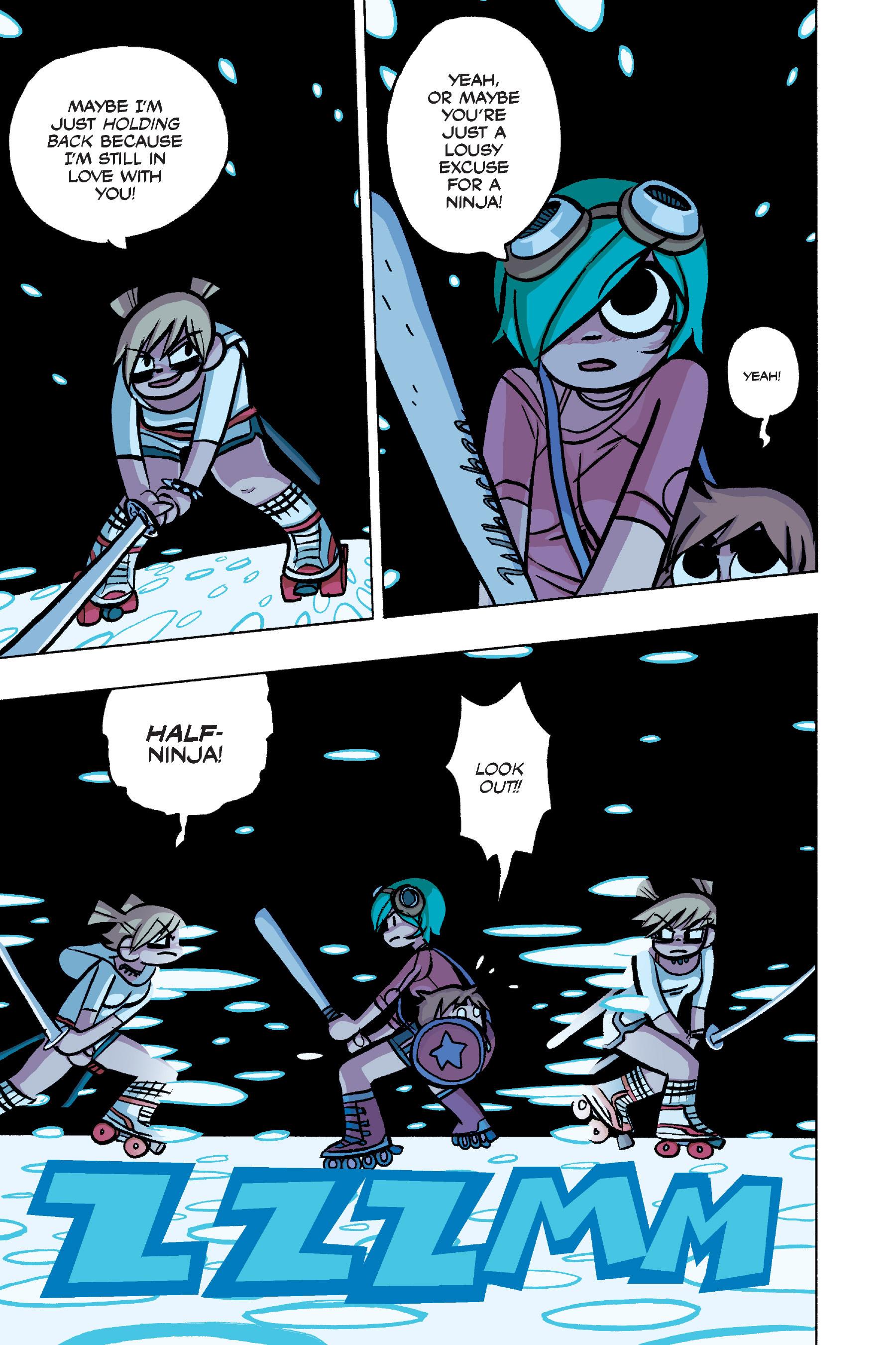 Read online Scott Pilgrim comic -  Issue #4 - 119