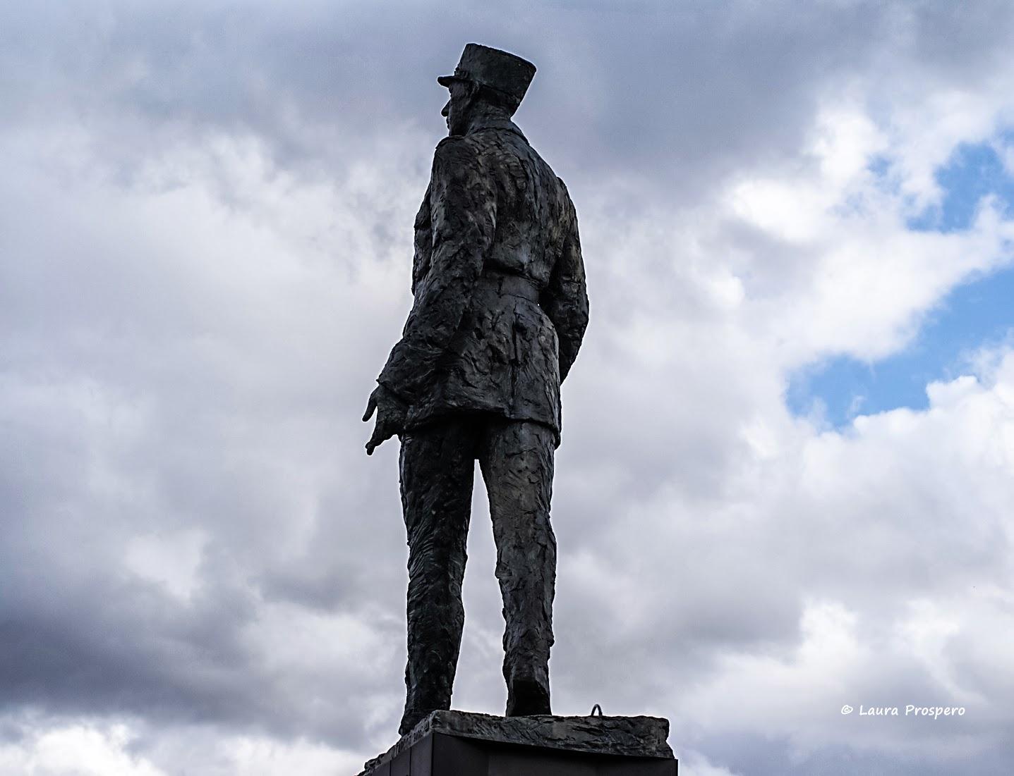 statue du Général de Gaulle - oeuvre de Jean Cardot © Laura Prospero