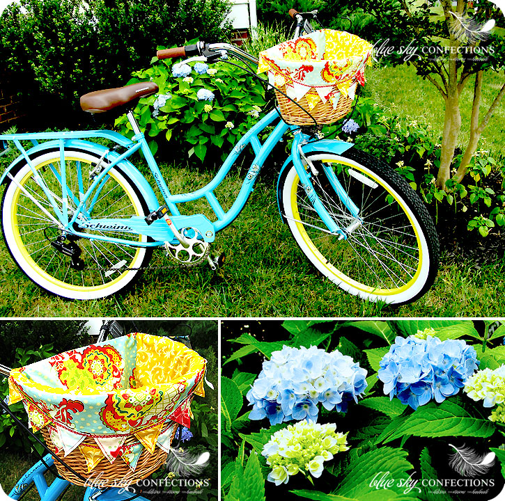 Blue Sky Confections Beach Cruisers Amp Handmade Basket Liners