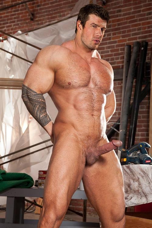 hard naked men