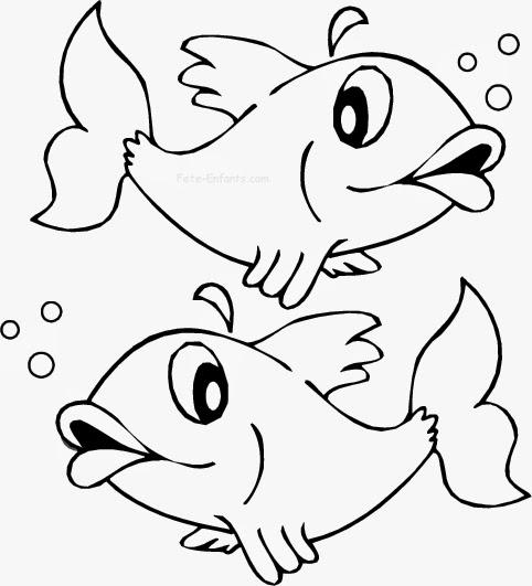 Toutenboisetcie 1er avril poisson d 39 avril c 39 est mardi - Coloriage poisson rouge ...