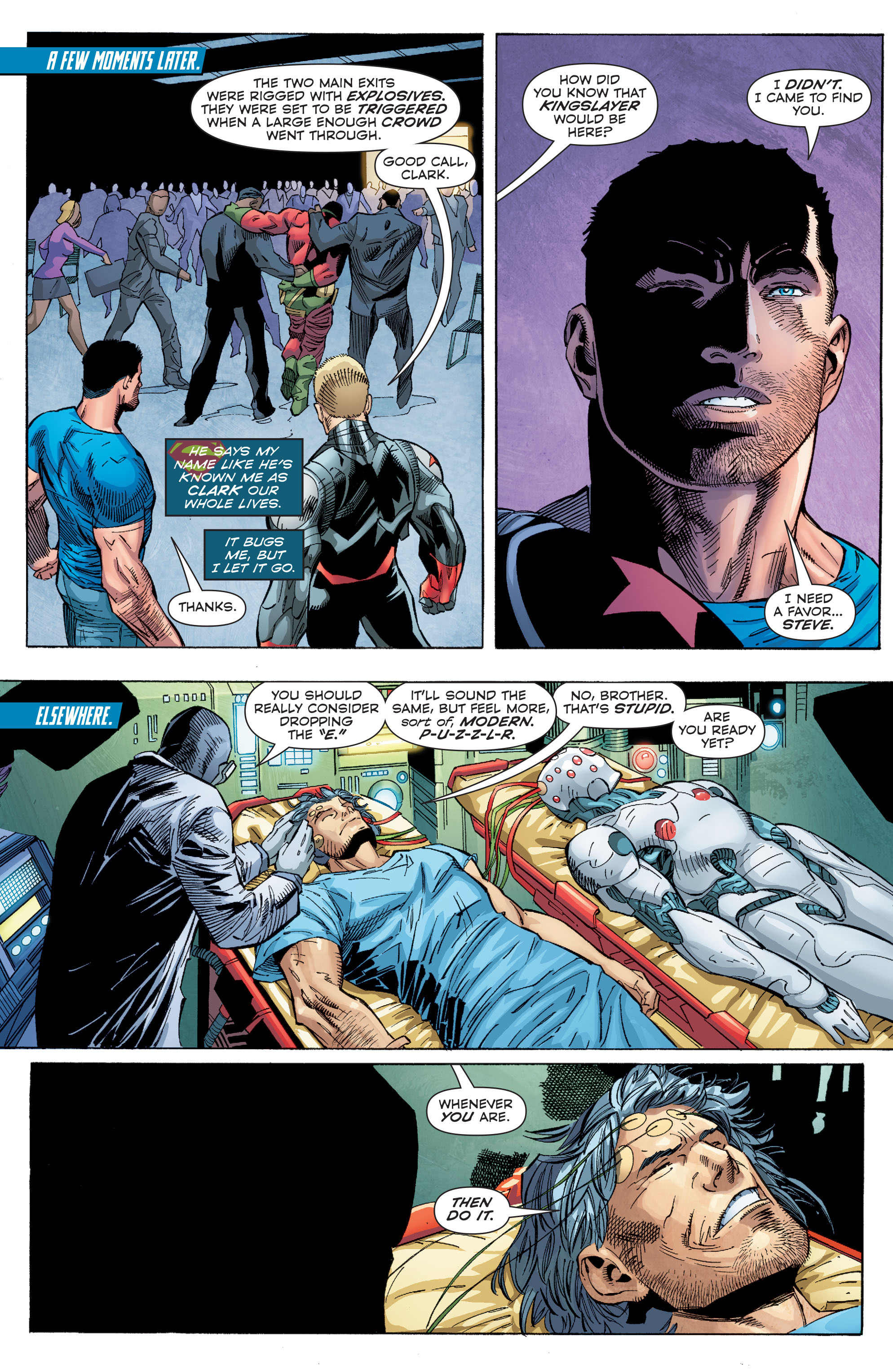 Read online Superman (2011) comic -  Issue #48 - 8