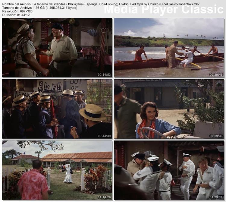Capturas de pantalla: La taberna del Irlandés | 1963 | Donovan's Reef