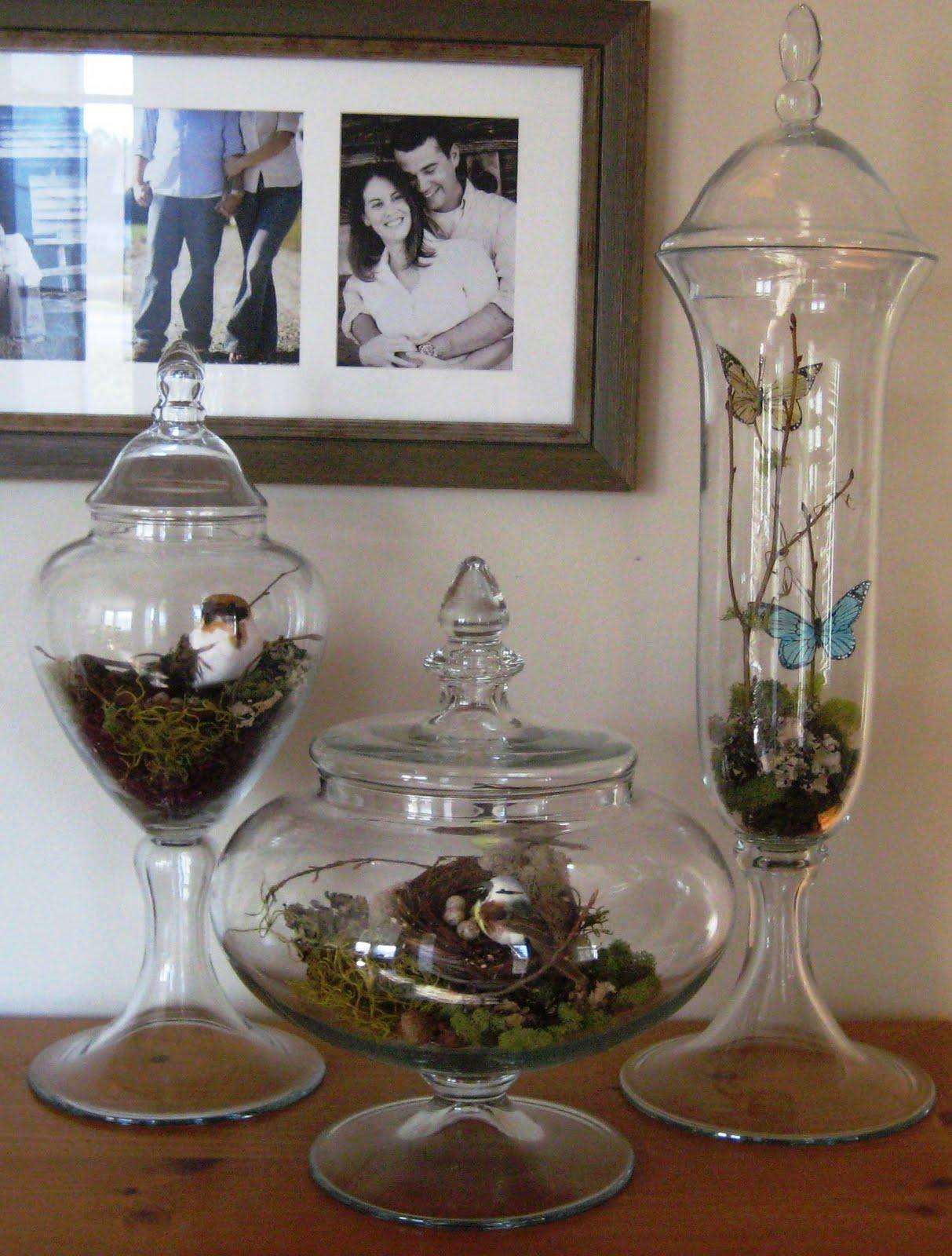 a heart 39 s desire spring apothecary jars