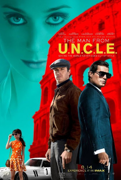 Poster Of The Man from U.N.C.L.E. 2015 720p BluRay English