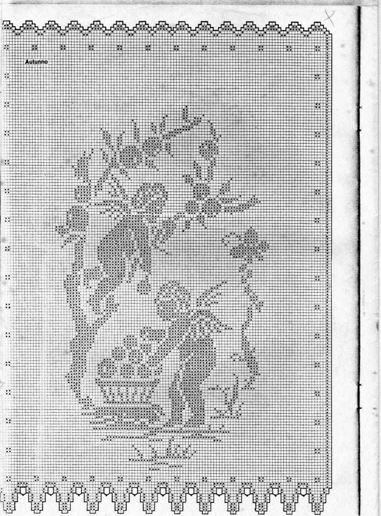 Hobby lavori femminili - ricamo - uncinetto - maglia: le 4 stagioni uncinetto...