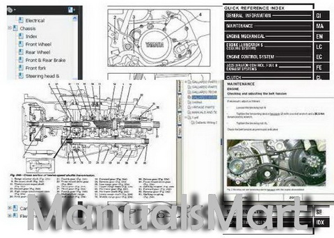 Pay for MerCruiser Service Manual #22 -  In-Line Diesel Marine Engine