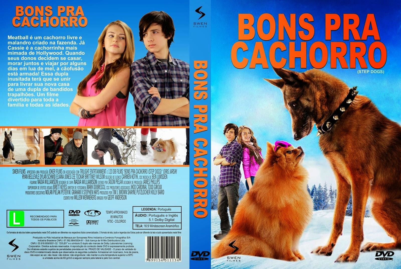 Bons pra Cachorro DVDRip XviD Dual Áudio Bons Pra Cachorro   Capa Filme DVD