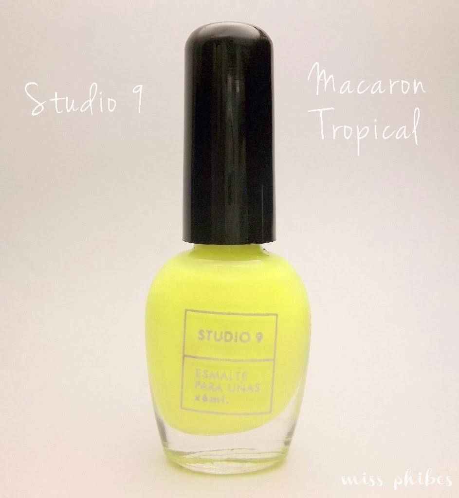 Studio 9 Macaron Tropical
