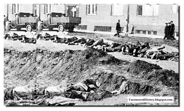 Germans massacred Prague