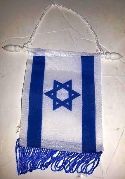 Estandarte bandera 13 x 8 ctms.