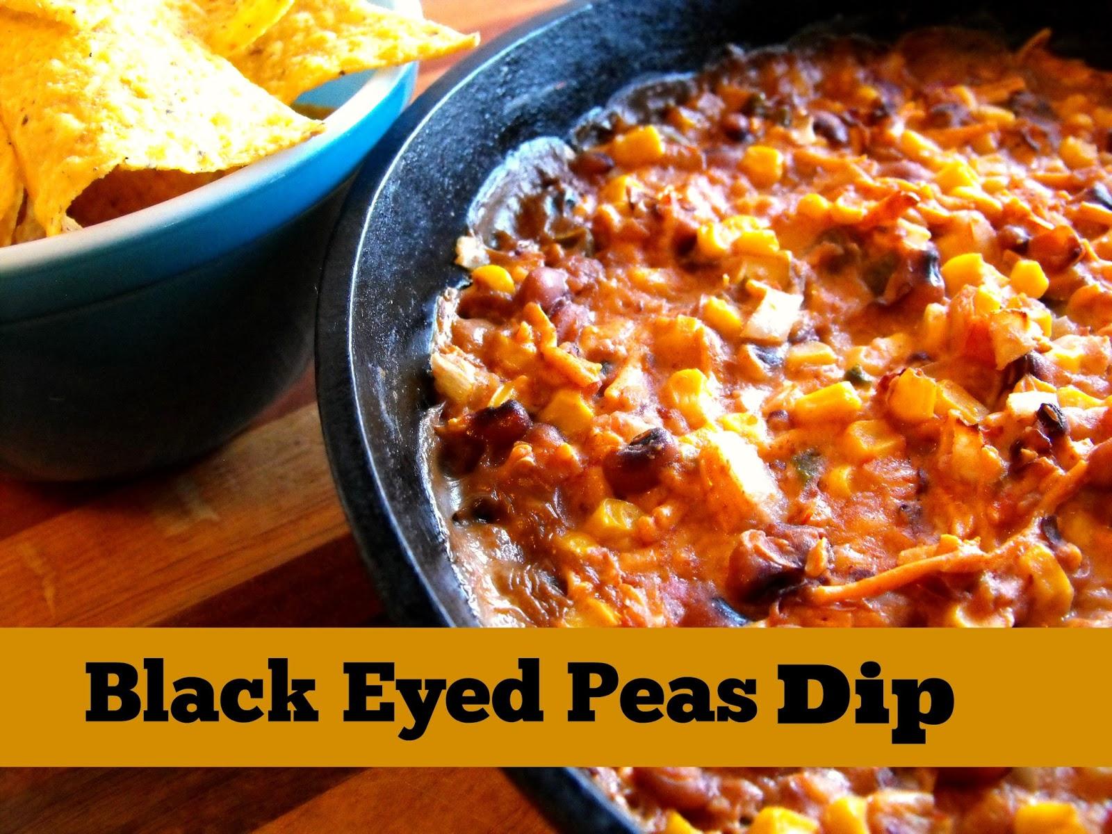 black eyed peas dip