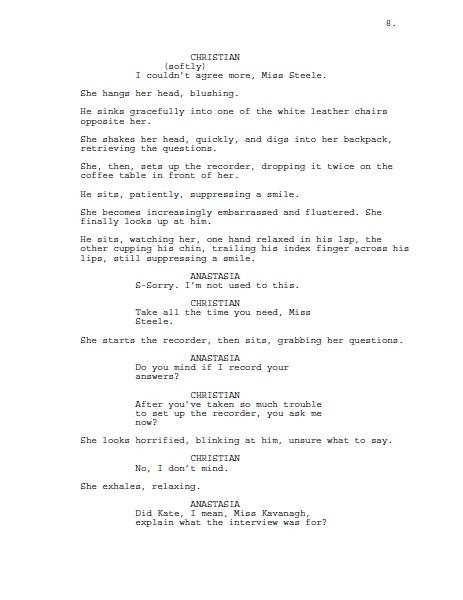 fifty shades of grey script pdf