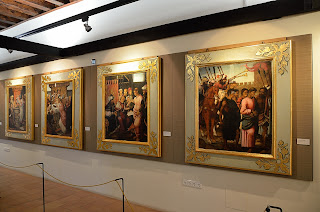 Paintings depicting the story of the Vera Cruz at Caravaca