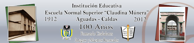 "ESCUELA NORMAL SUPERIOR ""CLAUDINA MUNERA"""