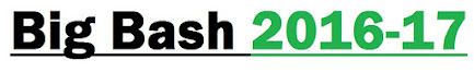 (New*) Big Bash 2016-17 Schedule, Live Stream, Scores, Teams | BBL League