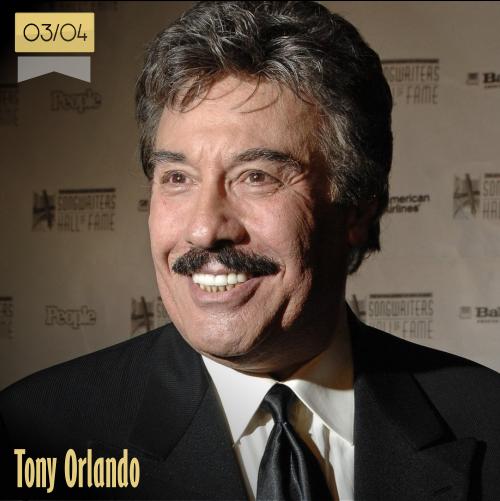 3 de abril | Tony Orlando - @TonyOrlando | Info + vídeos