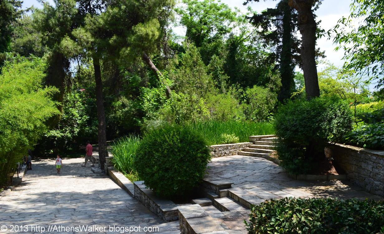 Charmant Diomedes Botanic Garden, Haidari (Athens Suburb), Greece