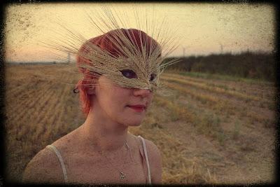 Lammas barley mask