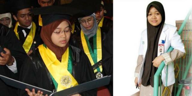Kisah Hijaber Jadi Dokter Termuda di Indonesia