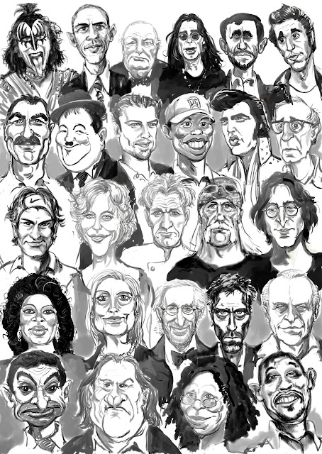 Caricatures by Artmagenta