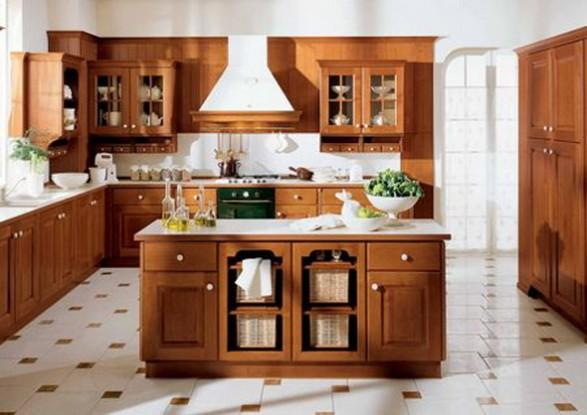 Estilo de cocina antigua por veneta cucine cocina y muebles for Estilos de cocinas