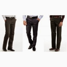Buy John Philip Readymade Premium Formal Trousers Pack of 3 at Rs.629 only