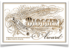 A Very Inspiring Blogger Award