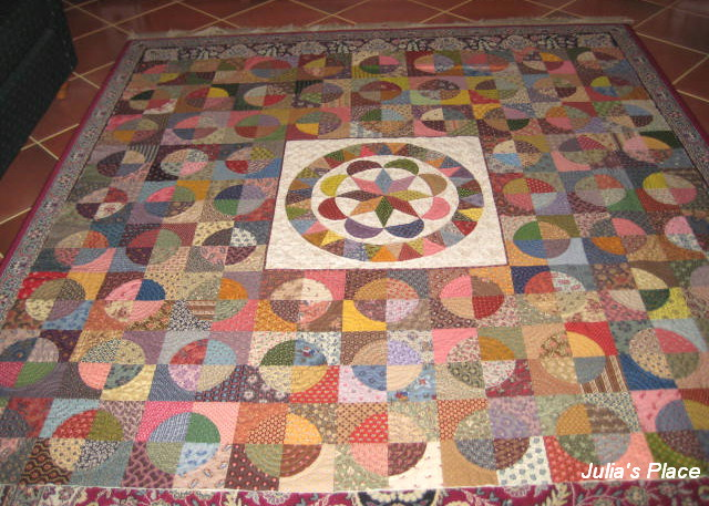 Julia s Place: Quilt as You go...revisited....