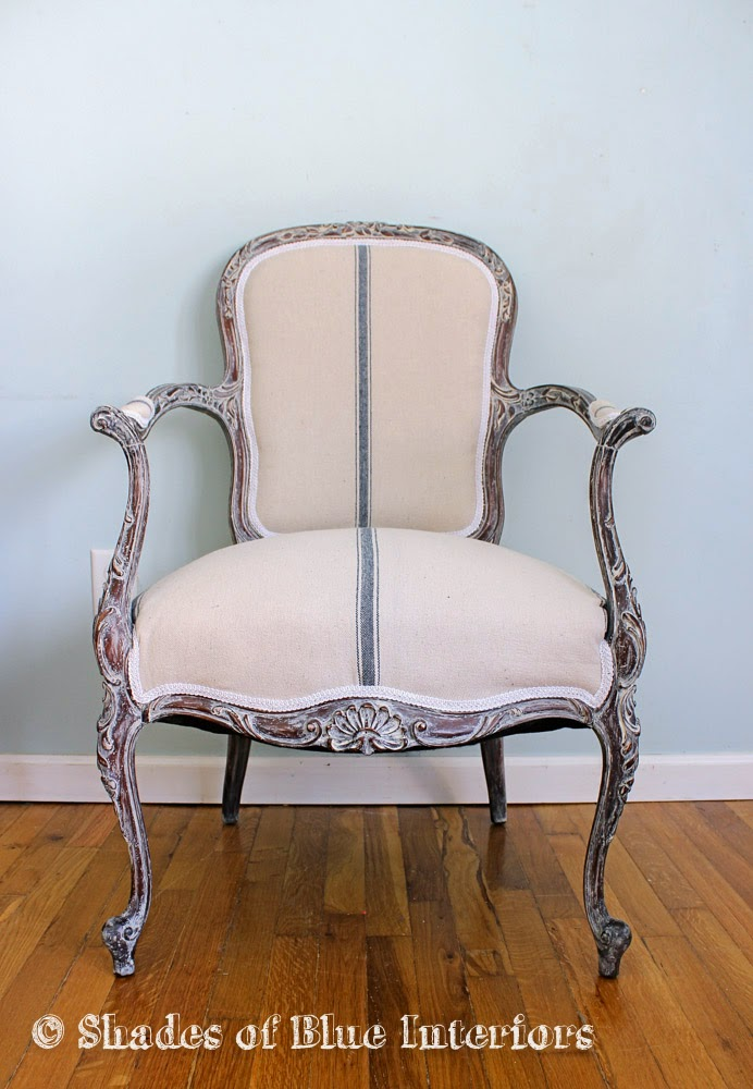 So, When They Offered It Again, I Bought More And Upholstered This French  Chair!