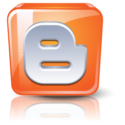 3d Blogger Logo Icon