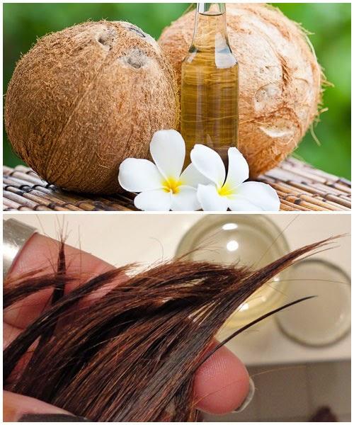 cách dùng dầu dừa cho tóc mượt
