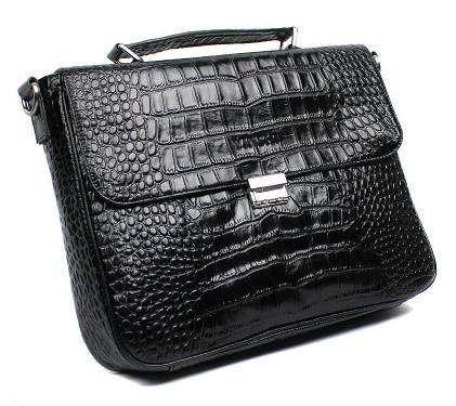 PILAEO メンズファッション ワニブリーフケース crocodile briefcase