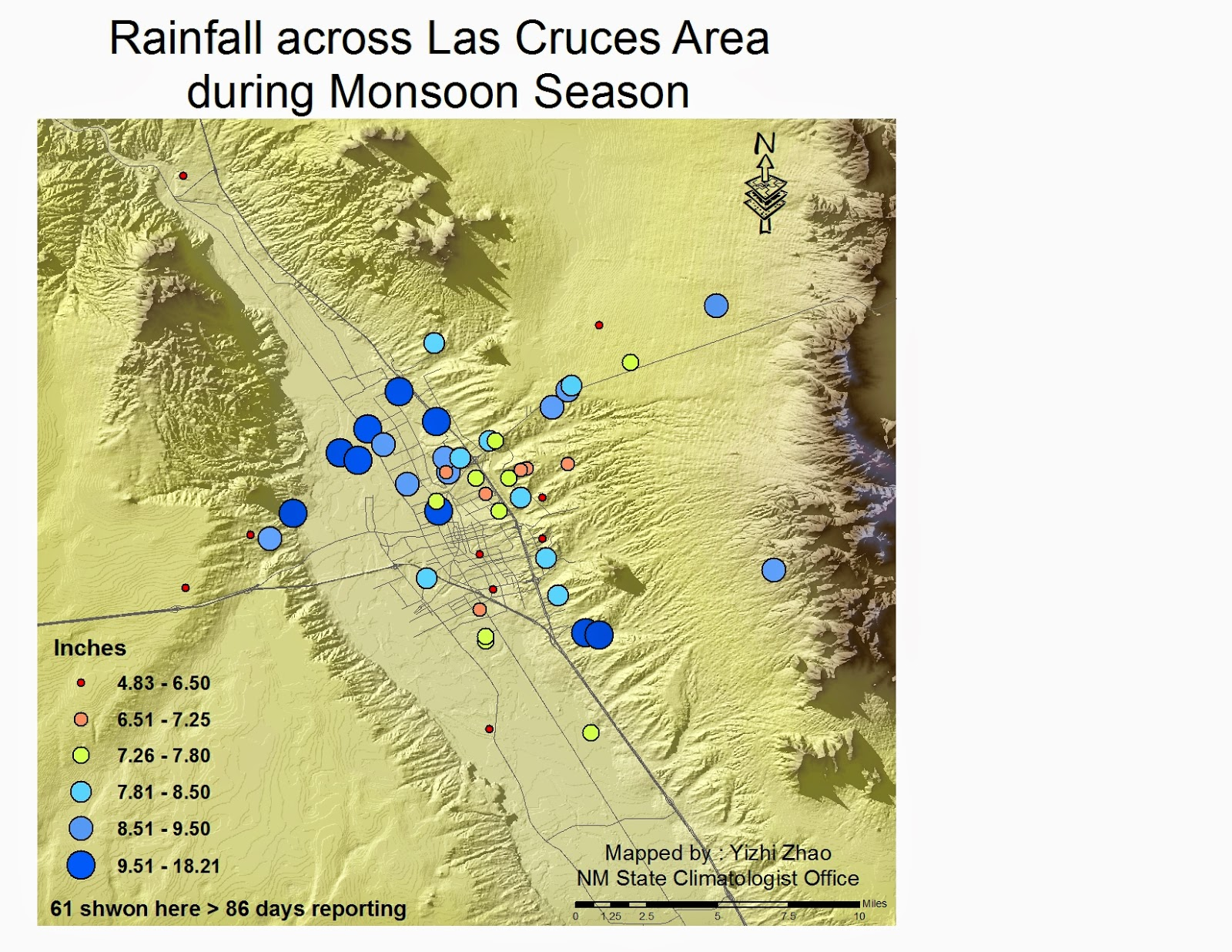 NM Climate Center Blog Monsoon Season 2014 In New Mexico
