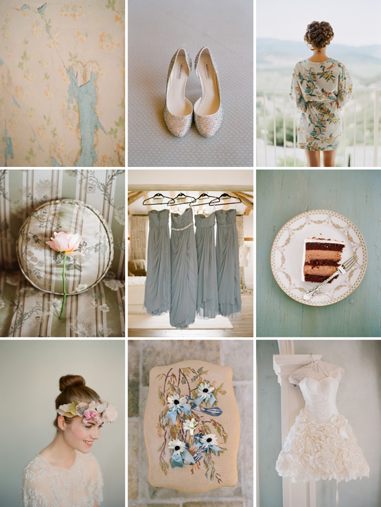 real life bride bridesmaid robe by elizabeth messina