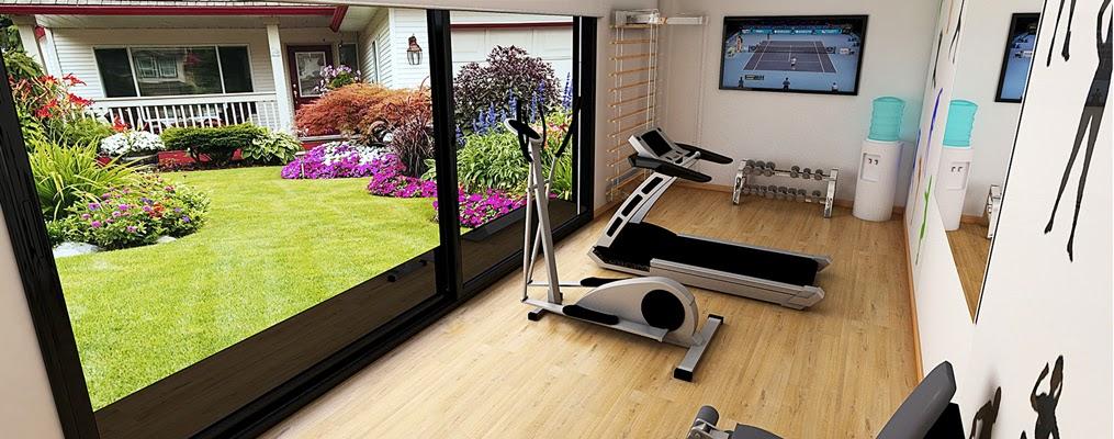 M ntate el gimnasio en casa con nuestros m dulos para - Gimnasios en casa ...