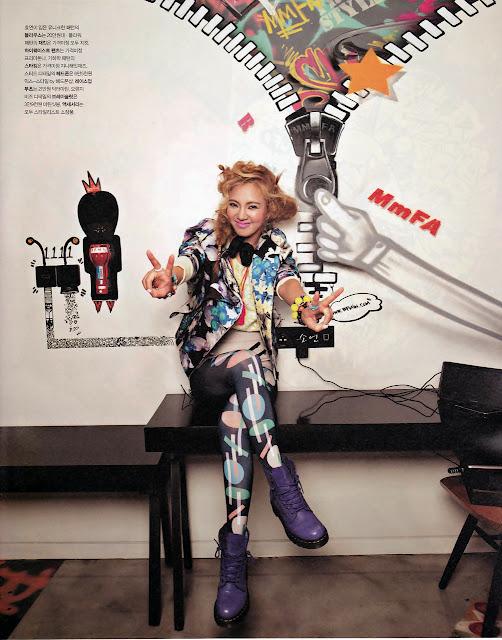 SNSD Hyoyeon Picture for Nylon Magazine