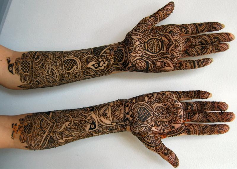 Dulhan Mehndi Designs For Full Hands 2014 : Indian mehndi designs for full hands desings