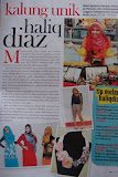 Featured In   Lisa Malaysia 1st June 2012