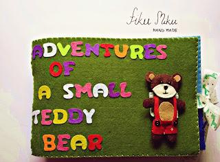 Adventures of a small teddy bear / Przygody małego misia