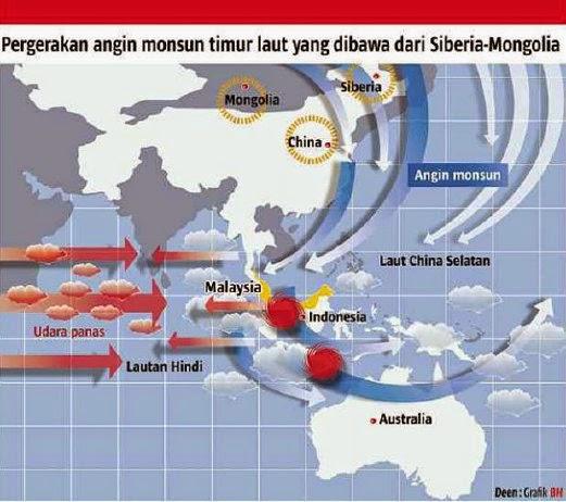 Fenomena Musim Sejuk Luar Biasa Dijangka Berlaku Di Malaysia
