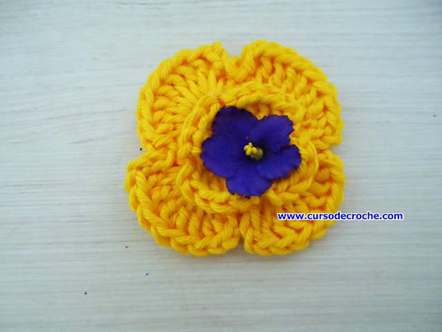 mini flores dvd aprender croche com edinir-croche
