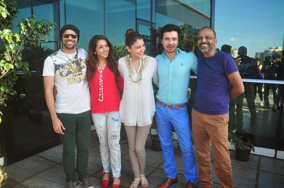 Actress Anushka Sharma celebrates success of NH10 with cast