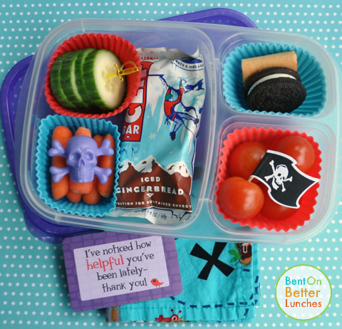 Pirate Treasure School Lunch