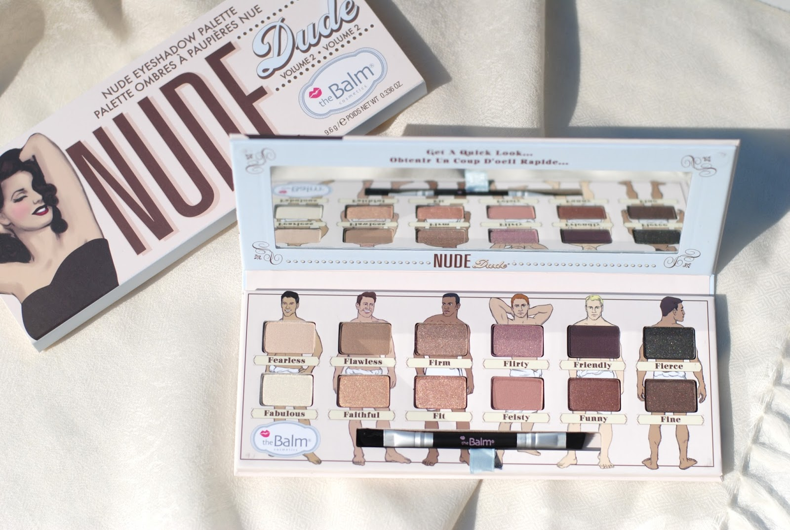 the balm nude dude review