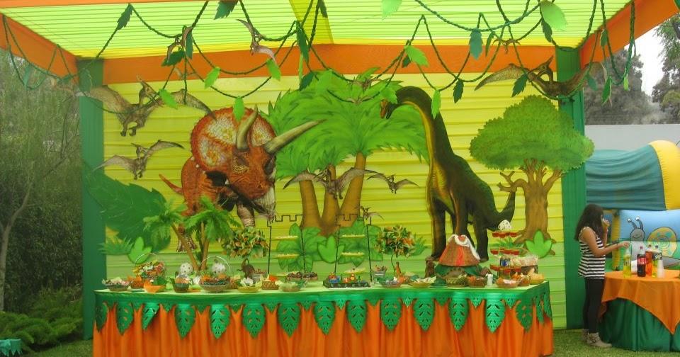 Fiesta infantil de dinosaurios decoracion en fiestas infantiles - Decoracion fiestas infantiles para ninos ...