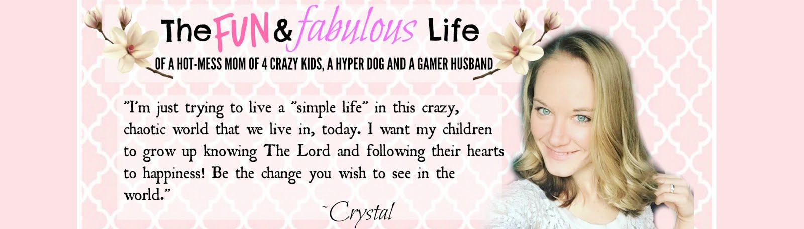 Fun & Fabulous Life: Crystal Laiti